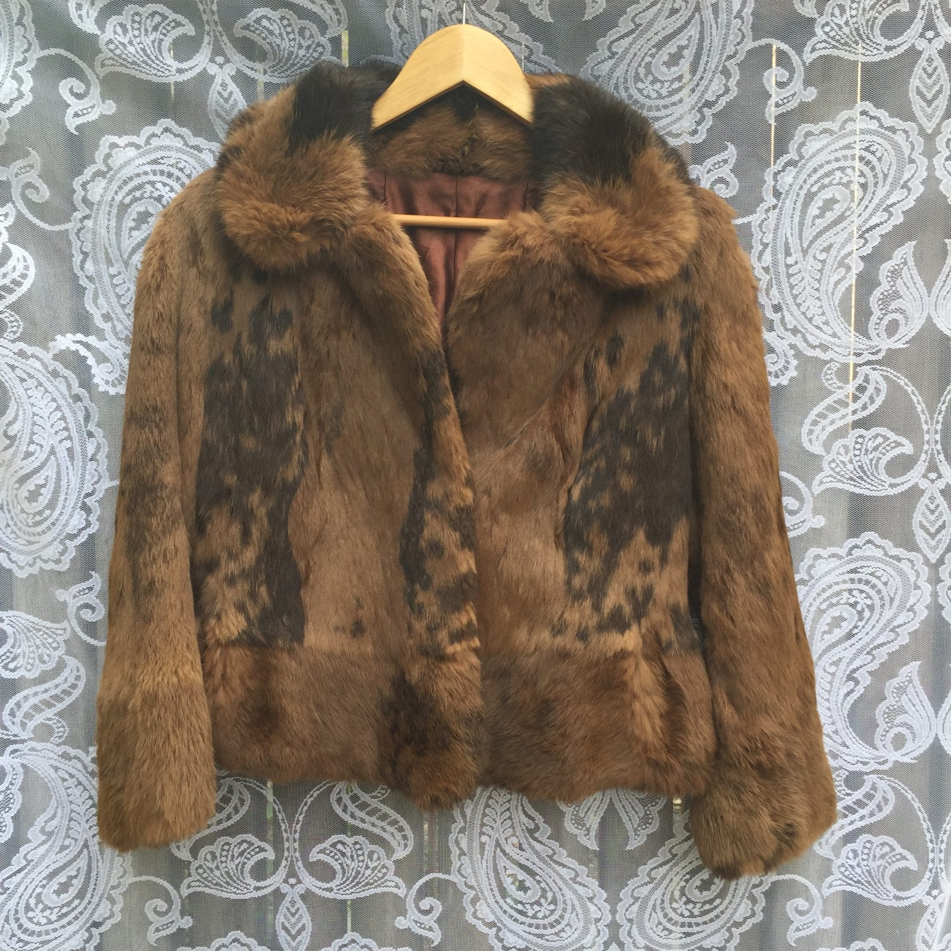 Brown Vintage Fur Coat