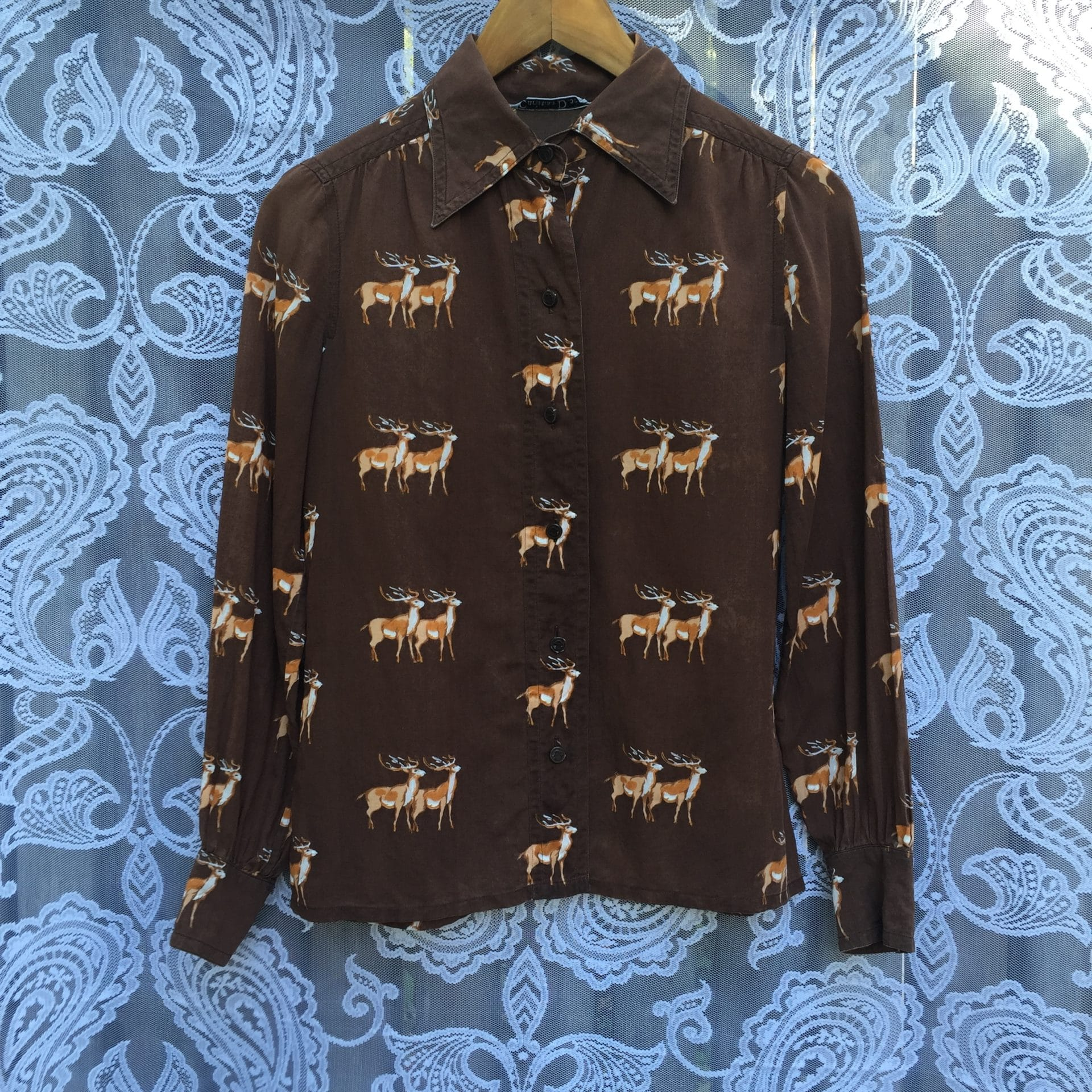 christian dior deer shirt