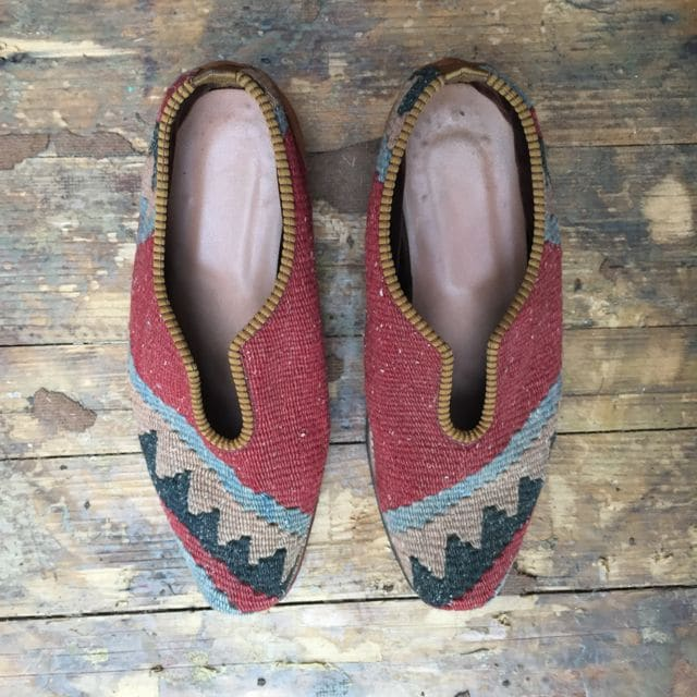 Carpet Vintage Slipper Shoes
