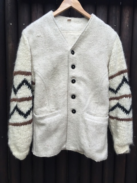 Nepalese Knit Wool Jacket Surf