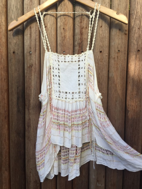 Summer Shine Boho Festival Top