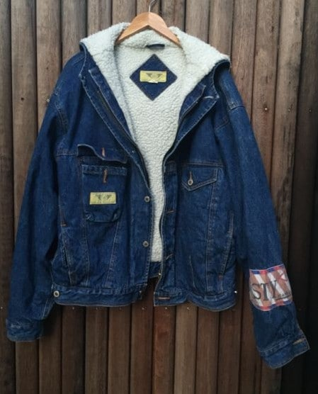 Vintage Faux Wool Lined Denim Jacket https://www.secondlovesvintage.com/Vintage Faux Wool Lined Denim Jacket https://www.secondlovesvintage.com/