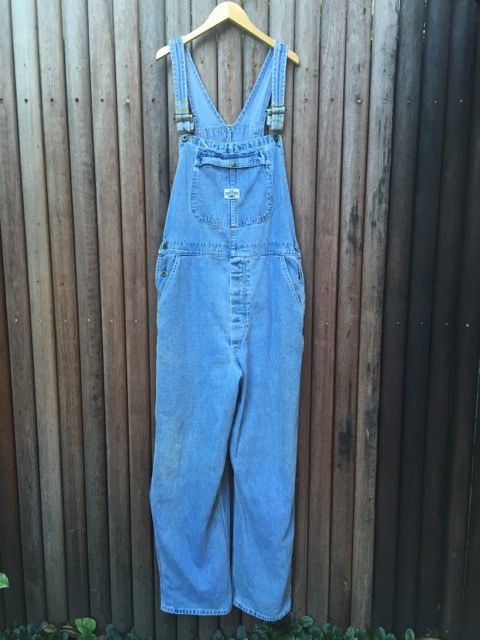 Vintage Lee Denim Dungarees - Overalls https://www.secondlovesvintage.com/