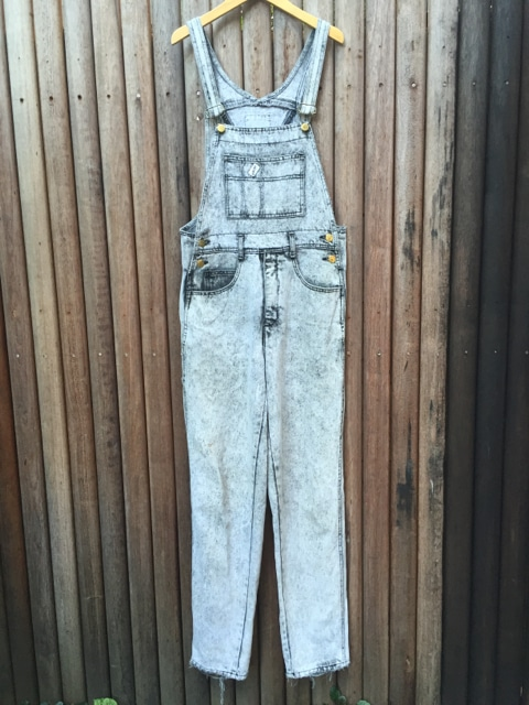 Vintage Guess Acid Wash Denim Overalls - Designer https://www.secondlovesvintage.com/