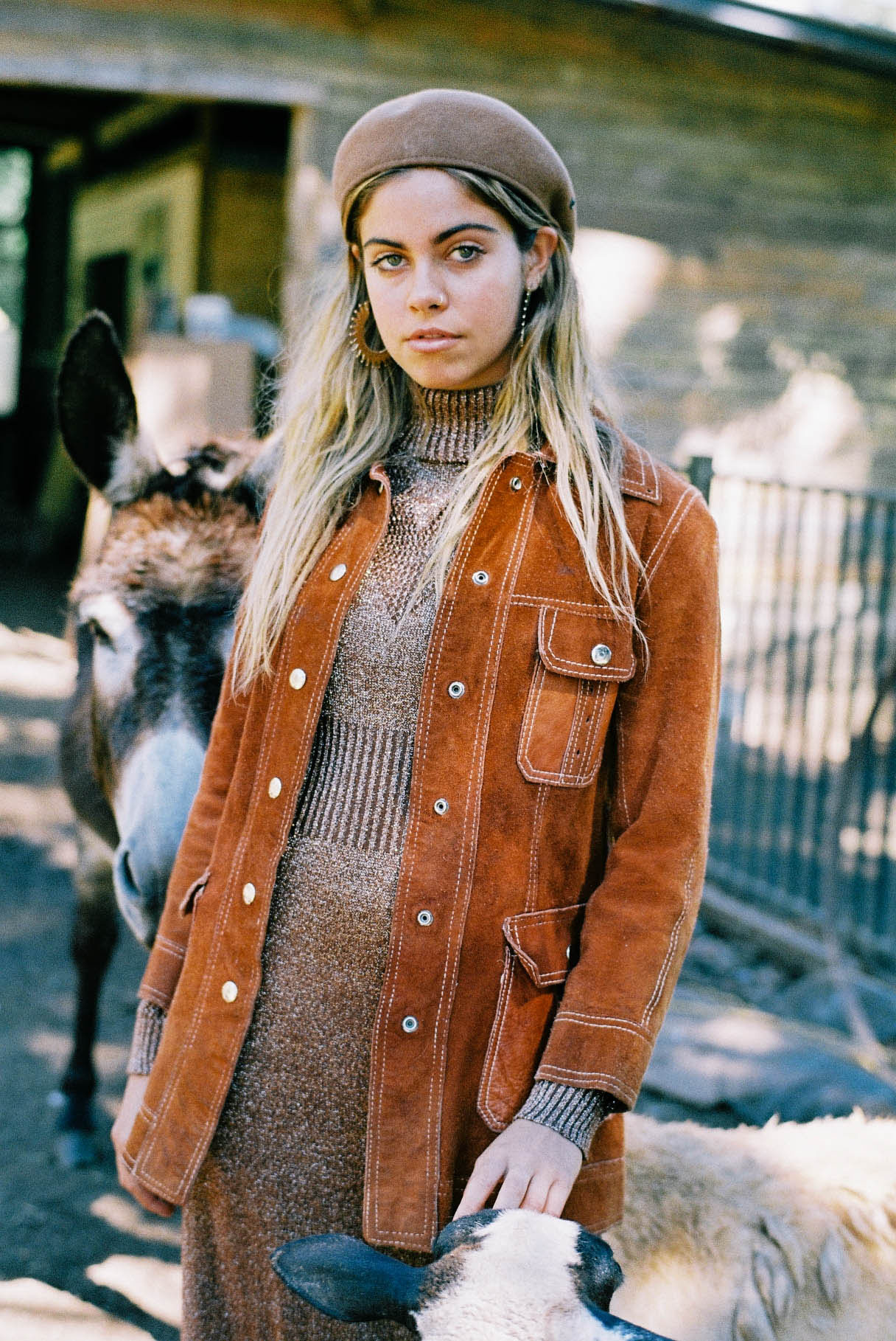 Vintage Suede Leather Jacket https://www.secondlovesvintage.com/