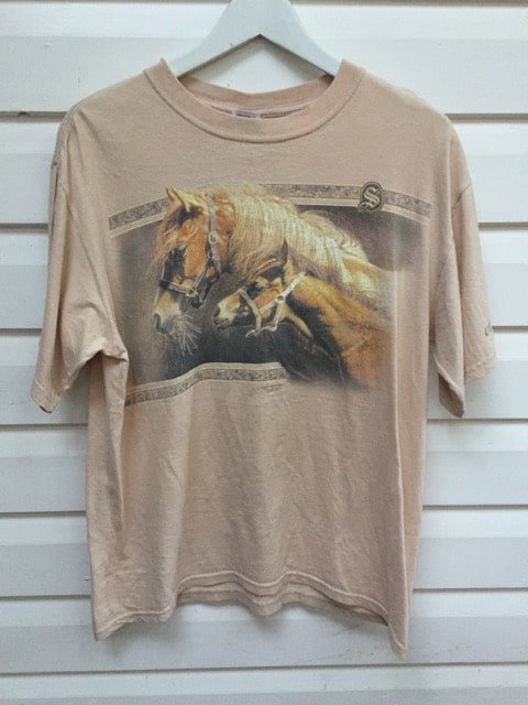 Vintage Horses T-shirt Unisex https://www.secondlovesvintage.com/