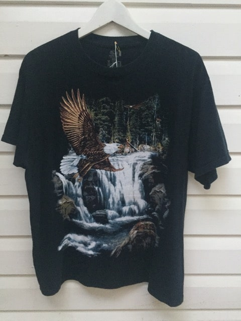 Eagle Waterfall Vintage T-shirt https://www.secondlovesvintage.com/