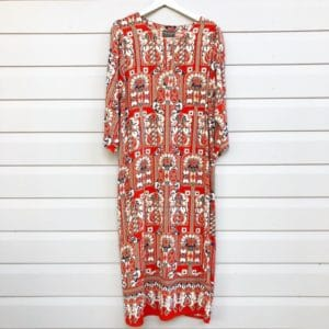 Batik Loose Fit Vintage Dress https://www.secondlovesvintage.com/