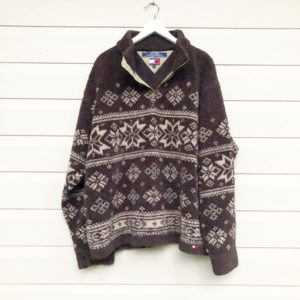 Tommy Hilfiger Snowflake Fleece https://www.secondlovesvintage.com/