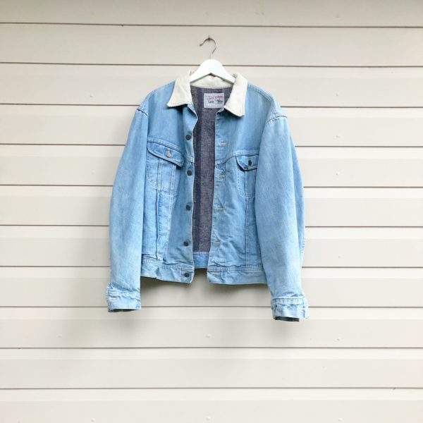 Lee Storm Rider Vintage Denim Jacket https://www.secondlovesvintage.com/