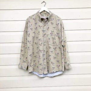 Mens Pintail Duck Vintage Shirt https://www.secondlovesvintage.com/