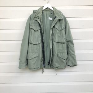 Old Army Khaki Vintage Jacket https://www.secondlovesvintage.com/