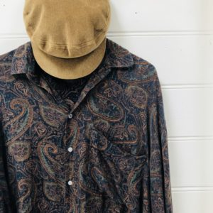Harpers Paisley Vintage Party Shirt https://www.secondlovesvintage.com/