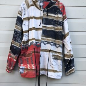 Primitive Art Tye Die Vintage Jacket https://www.secondlovesvintage.com/