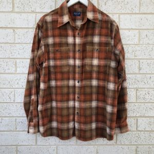 Eagle Club Corduroy Check Shirt https://www.secondlovesvintage.com/