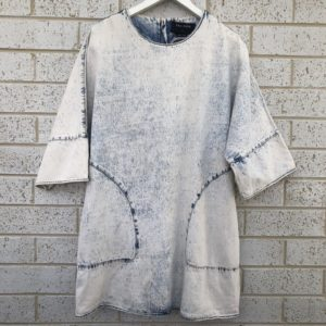 The Fifth Acid Wash Denim Dress https://www.secondlovesvintage.com/