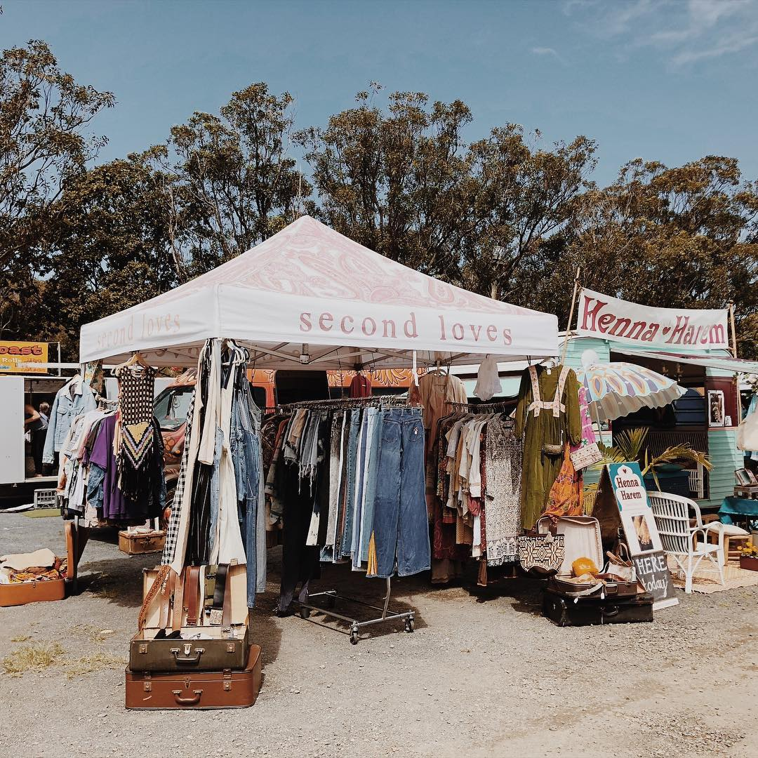 Byron Bay Market Second Loves Vintage https://www.secondlovesvintage.com/